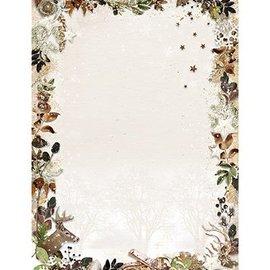Karten und Scrapbooking Papier, Papier blöcke A4-ark, Woodland