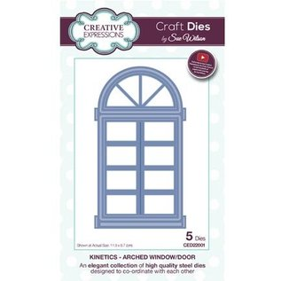 CREATIVE EXPRESSIONS und COUTURE CREATIONS Stamping template: Arched Window / Door