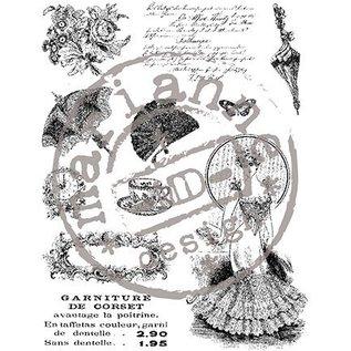 Marianne Design Transparante stempels, Victorian Ladies