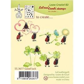 Stempel / Stamp: Transparent Klar / Gennemsigtig stempel: Held og lykke