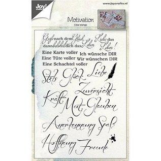 Stempel / Stamp: Transparent Clear / Transparant Stempel: German Spreuken