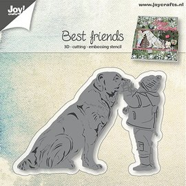 Joy!Crafts / Jeanine´s Art, Hobby Solutions Dies /  troqueles de corte: Perro con niño