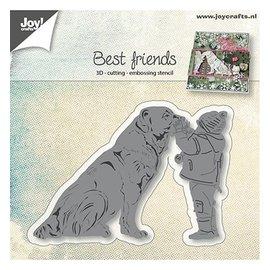 Joy!Crafts / Jeanine´s Art, Hobby Solutions Dies /  Cutting dies: Hond met kind