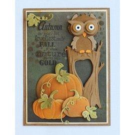 Joy!Crafts / Jeanine´s Art, Hobby Solutions Dies /  Plantillas de corte / corte y grabación en relieve: El árbol del otoño