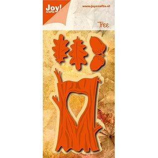 Joy!Crafts / Jeanine´s Art, Hobby Solutions Dies /  Snijsjablonen / Cutting & Embossing: Herfst boom