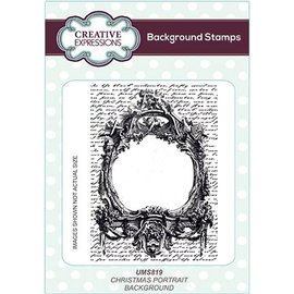 Stempel / Stamp: Transparent Stamp: background stamp with lettering!
