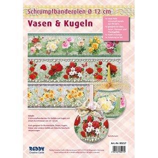 BANDEROLEN, Schrumpffolien Shrink bands for vases and pots