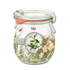 BANDEROLEN, Schrumpffolien Shrink ærmer til te, 8,5 cm