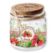 BANDEROLEN, Schrumpffolien Shrink ærmer marmelade / smoothies, 9 cm