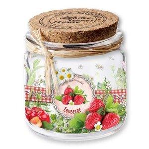 BANDEROLEN, Schrumpffolien Krimphulzen jam / smoothies, 9 cm