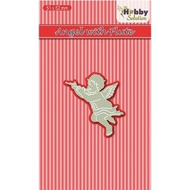 Joy!Crafts / Jeanine´s Art, Hobby Solutions Dies /  Taglio & Embossing: Angelo con flauto