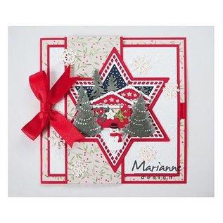 Marianne Design Snijsjabloon: 7 sterren