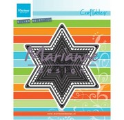 Marianne Design Cutting template: 7 stars