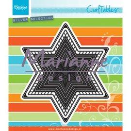 Marianne Design Gabarit de découpe: 7 étoiles