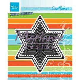 Marianne Design Cutting template: 7 stars