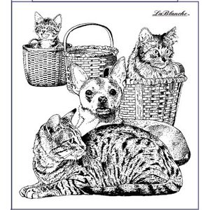 LaBlanche Tampon Lablanche: chien et chat