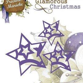 Precious Marieke coupe et d'embossage: étoiles
