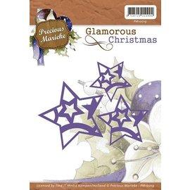 Precious Marieke cutting & embossing: stars