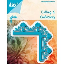 Joy!Crafts / Jeanine´s Art, Hobby Solutions Dies /  Snijschablonen, Cutting & Embossing: Hoek met Bloemen