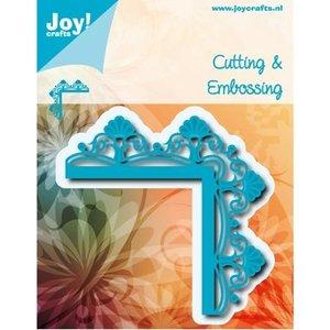 Joy!Crafts / Jeanine´s Art, Hobby Solutions Dies /  Découpe et gaufrage: coin avec des fleurs