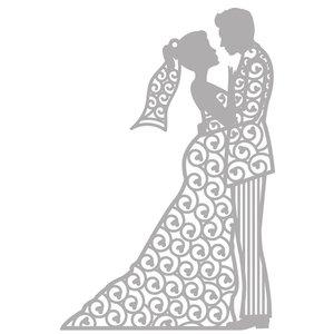 Marianne Design Stanzschablone: Filigrane Silhouette