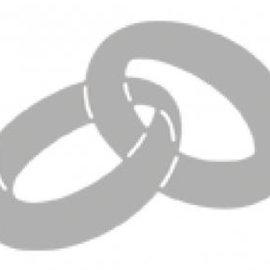 Marianne Design Stanzschablone: Wedding Rings