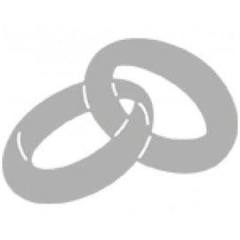 Marianne Design Cutting & Embossing Sjablonen: Wedding Rings