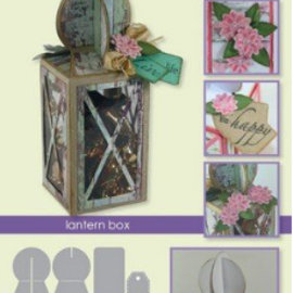 Tonic Studio´s Fustelle: scatola lanterna carta della scatola A5