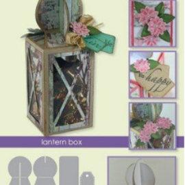 Tonic Studio´s Troqueles de corte: caja de cartón caja de linterna A5