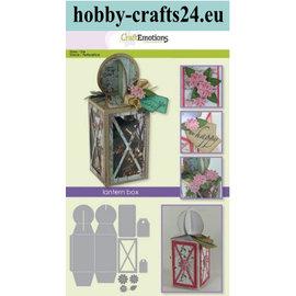 Craftemotions Punching templates: lantern box Card A5 box