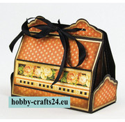 Tonic Studio´s Stempling og prægning skabelon: Cupcake & Treat Box Set