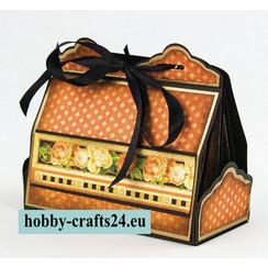 Stempling og prægning skabelon: Cupcake & Treat Box Set
