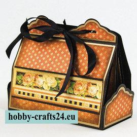 Tonic Studio´s Stanz-und Prägeschablone: Cupcake & Treat Box Die Set - LETZTE VORRÄTIG!