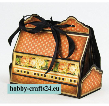 Tonic Studio´s Stampaggio e modello di goffratura: Cupcake & Treat Box Il Set