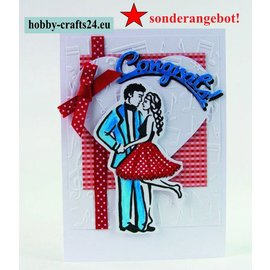 Tonic Studio´s Rubber Stamps: Last Dance - SPECIAL OFFER