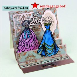 Tonic Rubber Stamp: Debutante Ball - SPECIALE AANBIEDING!