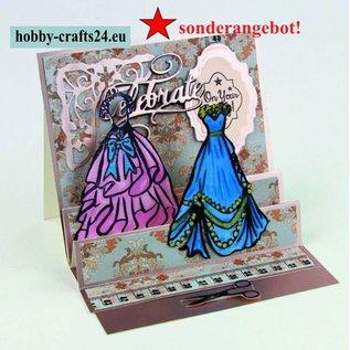 Tonic Studio´s Rubber Stamp: Debutante Ball