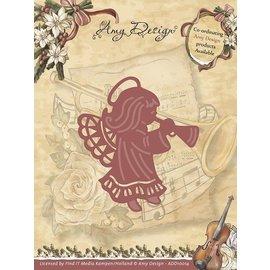 AMY DESIGN AMY DESIGN, stempling skabelon: engel
