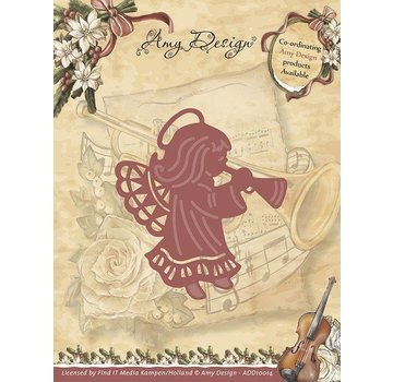 AMY DESIGN AMY DESIGN, Stamping template: Angel