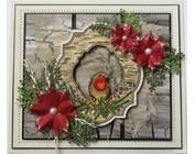 mange frimerkemotiver jul / vinter,