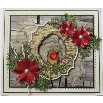 Basteln für Weihnachten, Weihnachtsdeko basteln, viele stempel Motive Weihnachten, das alles  finden Sie in dieser Kategorie !