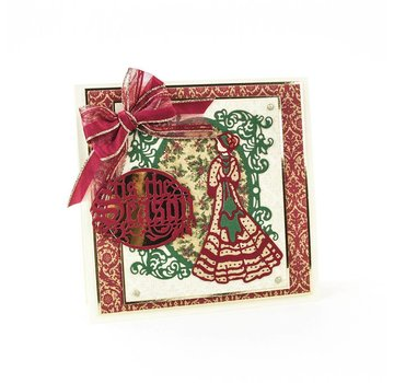 Tonic Studio´s Cutting & Embossing die: Elegant Vintage Lady