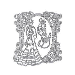 Tonic Studio´s Kutting og Embossing dør: Elegant Vintage Lady