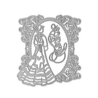 Tonic Studio´s Skæring & Embossing dø: Elegant Vintage Lady