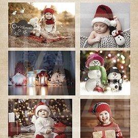 BILDER / PICTURES: Studio Light, Staf Wesenbeek, Willem Haenraets foglio A4 delle immagini: I bambini e il Natale