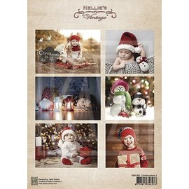 Bilder, 3D Bilder und ausgestanzte Teile usw... A4 ark af billeder: Børn og jul