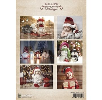BILDER / PICTURES: Studio Light, Staf Wesenbeek, Willem Haenraets A4 picture sheet: children and Christmas