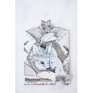 Bilder, 3D Bilder und ausgestanzte Teile usw... A4 Bilderbogen: Märchen dream – blue