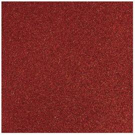 Designer Papier Scrapbooking: 30,5 x 30,5 cm Papier Glitter rood papier, 30,5 x 30,5 cm