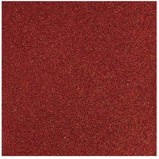 Designer Papier Scrapbooking: 30,5 x 30,5 cm Papier Glitterpapier rot, 30,5 x 30,5 cm